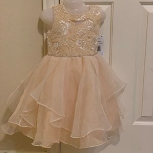 Rare Edition shine bright toddler girl dress size5